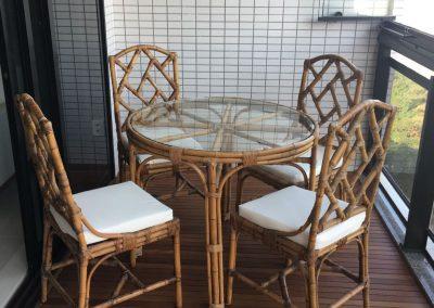 Confecção de assentos para cadeira
