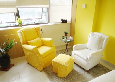 Poltrona Berger Amarela