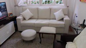 reforma de sofá, pufe e banqueta